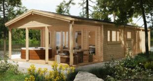 Den Garten genießen mit einem eigenen Gartenhaus und dem Fundament von LogFoot™