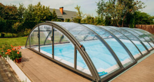 Poolüberdachung für Außenpools: Stilvoll und funktional